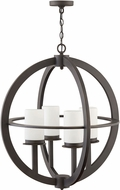 Hinkley 1018OZ Compass Contemporary Oil Rubbed Bronze Outdoor Pendant Lighting