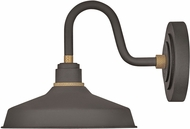 Hinkley 10231MR Foundry Contemporary Museum Bronze / Brass Outdoor Wall Lamp