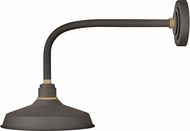 Hinkley 10312MR Foundry Contemporary Museum Bronze / Brass Outdoor Light Sconce