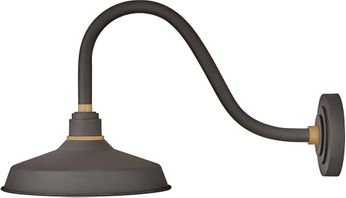 Hinkley 10342MR Foundry Contemporary Museum Bronze / Brass Outdoor Wall Lighting Sconce
