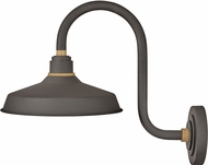 Hinkley 10362MR Foundry Contemporary Museum Bronze / Brass Outdoor Wall Sconce Light