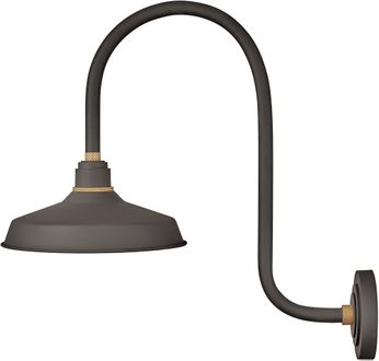 Hinkley 10372MR Foundry Modern Museum Bronze / Brass Exterior Wall Lighting