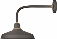 Hinkley 10413MR Foundry Modern Museum Bronze / Brass Exterior Lighting Sconce