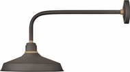 Hinkley 10423MR Foundry Contemporary Museum Bronze / Brass Outdoor Wall Light Fixture