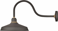 Hinkley 10453MR Foundry Contemporary Museum Bronze / Brass Outdoor Wall Lighting Fixture