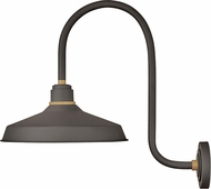 Hinkley 10473MR Foundry Modern Museum Bronze / Brass Exterior Wall Sconce