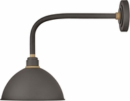 Hinkley 10514MR Foundry Modern Museum Bronze / Brass Exterior Sconce Lighting