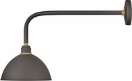 Hinkley 10524MR Foundry Contemporary Museum Bronze / Brass Outdoor Lamp Sconce
