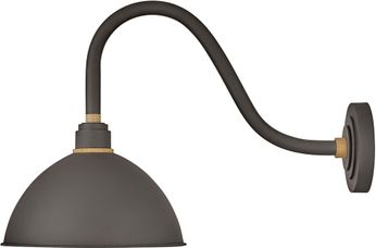 Hinkley 10544MR Foundry Modern Museum Bronze / Brass Exterior Lighting Wall Sconce