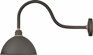 Hinkley 10554MR Foundry Contemporary Museum Bronze / Brass Outdoor Wall Mounted Lamp