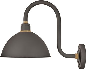 Hinkley 10564MR Foundry Modern Museum Bronze / Brass Exterior Wall Light Sconce