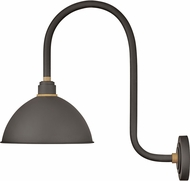 Hinkley 10574MR Foundry Contemporary Museum Bronze / Brass Outdoor Wall Lamp