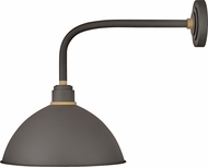 Hinkley 10615MR Foundry Contemporary Museum Bronze / Brass Outdoor Light Sconce