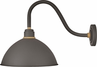 Hinkley 10645MR Foundry Contemporary Museum Bronze / Brass Outdoor Wall Lighting Sconce
