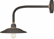 Hinkley 10716MR Foundry Contemporary Museum Bronze / Brass Outdoor Wall Lighting