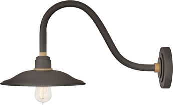 Hinkley 10746MR Foundry Contemporary Museum Bronze / Brass Outdoor Wall Light Fixture