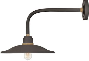 Hinkley 10817MR Foundry Modern Museum Bronze / Brass Exterior Sconce Lighting