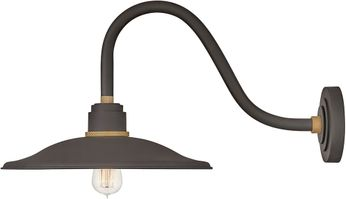 Hinkley 10847MR Foundry Modern Museum Bronze / Brass Exterior Lighting Wall Sconce
