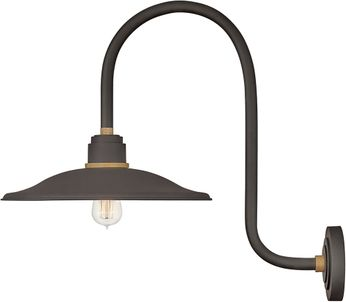 Hinkley 10877MR Foundry Contemporary Museum Bronze / Brass Outdoor Wall Lighting Fixture