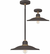 Hinkley 10887MR Foundry Modern Museum Bronze / Brass Exterior Pendant Light / Ceiling Light