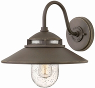 Hinkley 1110OZ Atwell Retro Oil Rubbed Bronze Exterior Wall Lamp