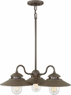 Hinkley 1113OZ Atwell Retro Oil Rubbed Bronze Exterior Chandelier Lighting