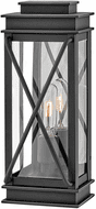 Hinkley 11190MB Montecito Traditional Museum Black Outdoor Small Wall Sconce