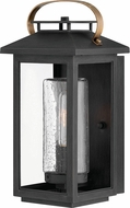 Hinkley 1160BK Atwater Modern Black Exterior Small Lighting Sconce