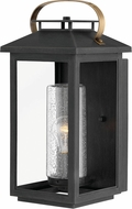 Hinkley 1164BK Atwater Contemporary Black Outdoor Medium Lamp Sconce
