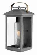 Hinkley 1165AH Atwater Modern Ash Bronze Exterior Large Wall Sconce Lighting