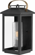 Hinkley 1165BK Atwater Modern Black Exterior Large Wall Sconce Lighting