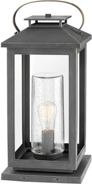 Hinkley 1167AH-LV Atwater Modern Gray LED Outdoor Pier Mount