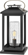 Hinkley 1167BK-LV Atwater Contemporary Black LED Exterior Pier Mount