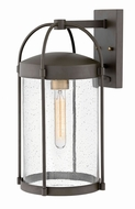 Hinkley 1175OZ Drexler Contemporary Oil Rubbed Bronze Outdoor Large Wall Lighting Fixture
