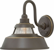 Hinkley 1194OZ Troyer Oil Rubbed Bronze Exterior Lamp Sconce