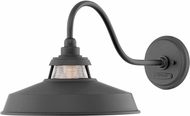 Hinkley 1195BK Troyer Contemporary Black Outdoor Lighting Wall Sconce
