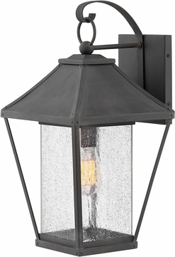 Hinkley 1215MB Palmer Museum Black Exterior Large Wall Lighting Sconce