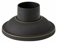 Hinkley 1304OZ 7 Inch Diameter Oil Rubbed Bronze Piermount Accessory