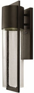 Hinkley 1324KZ Shelter Modern Buckeye Bronze Exterior 20.5  Wall Light Fixture
