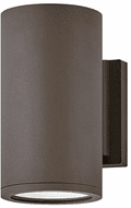 Hinkley 13590AZ-LL Silo Contemporary Architectural Bronze LED Exerior Lighting Wall Sconce