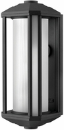 Hinkley 1395BK Castelle Contemporary Black Exterior 18  Lighting Sconce