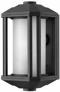 Hinkley 1396BK-LED Castelle Contemporary Black LED Outdoor Wall Light Fixture