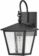 Hinkley 14060BK Huntersfield Traditional Black LED Exerior Small Wall Light Sconce