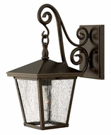 Hinkley 1430RB Trellis Traditional Seedy Glass 15 Inch Tall Outdoor Wall Sconce