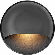 Hinkley 15232BK Nuvi Modern Black LED Exterior Light Sconce