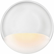 Hinkley 15232MW Nuvi Modern Matte White LED Exterior Lamp Sconce