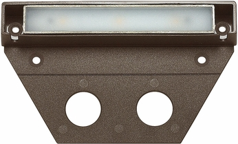Hinkley 15446BZ Nuvi Contemporary Bronze LED Outdoor Deck Light