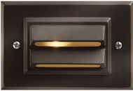 Hinkley 1546BZ-LL Deck Horizontal Contemporary Dark Bronze / Light Bronze LED Exterior Wall Sconce