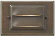 Hinkley 1546MZ-LL Hardy Island Contemporary Dark Brass / Light Bronze LED Outdoor Wall Lamp