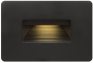 Hinkley 15508SK Luna Contemporary Satin Black LED Outdoor Step Light